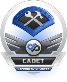 Hacking By Numbers Reloaded : Cadet