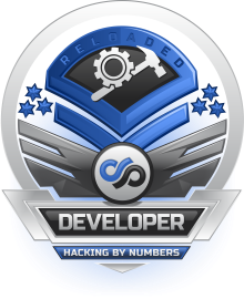 Hacking By Numbers : Developer