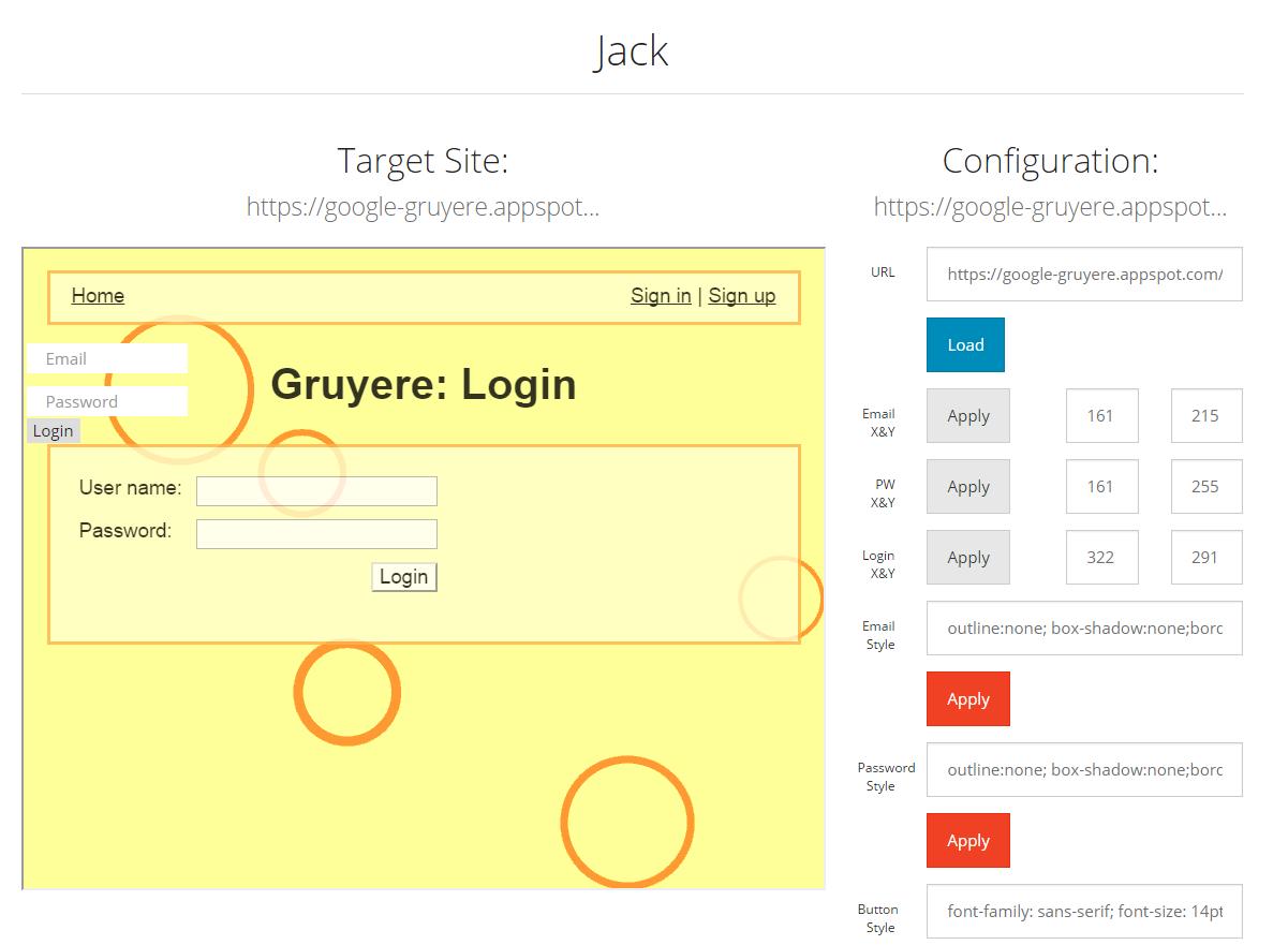 SensePost | Demonstrating clickjacking with jack