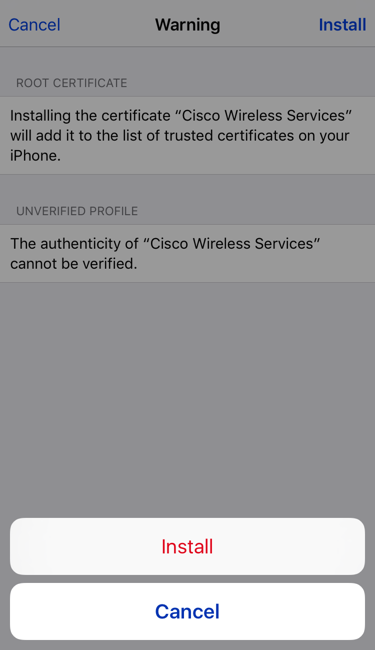 Sensepost Too Easy Adding Root Cas To Ios Devices