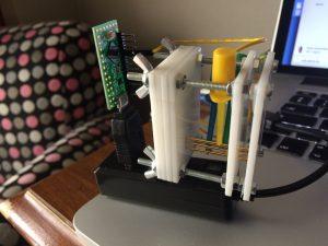 laser cut test rig