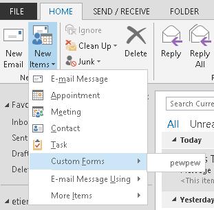 SensePost | Outlook forms and shells